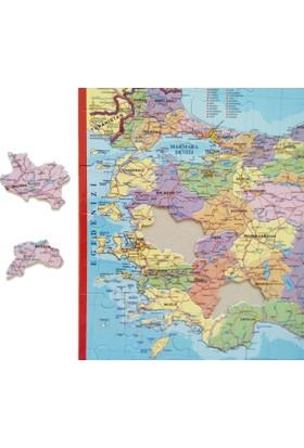 Okullara Özel Türkiye Haritası Yapboz Seti (15 Adet)