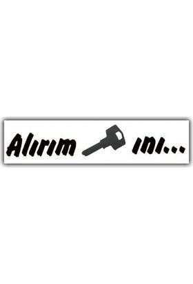 Nettedarikcisi Ozy Alırım Anahtarını Araba Oto Sticker ( 2,5Cm * 15Cm )