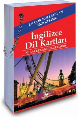 Miracle Language Cards 2.500 Useful Words (İngilizce-Türkçe)