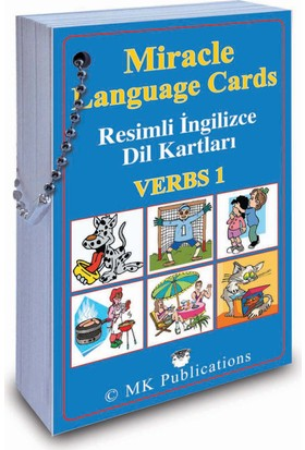 Miracle Language Cards - Verbs 1