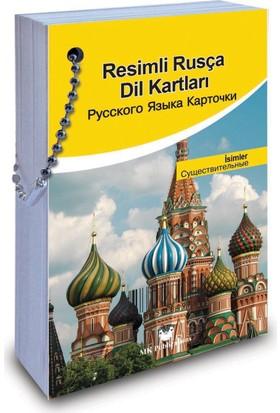 Resimli Rusça Dil Kartları: İsimler