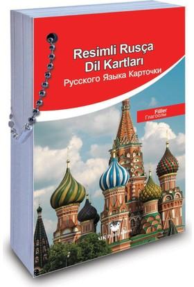 Resimli Rusça Dil Kartları: Fiiller - Elena Izmaylova
