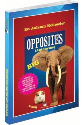 Opposites (Antonyms) (Cep Kitabı) - Murat Kurt