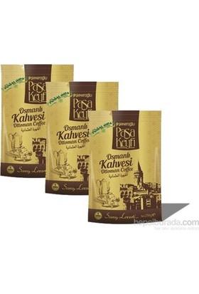 Şekeroğlu Paşa Keyfi Osmanlı Kahvesi 200 Gr. X 3 Paket