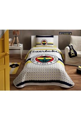 Taç Tek Kişilik Fenerbahçe Yıldız Pike Takımı