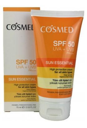 Cosmed Güneş Koruyucu Yüz Kremi Spf 50 75Ml