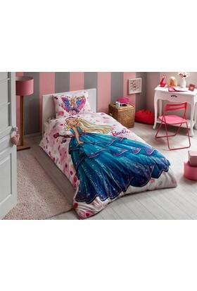 Taç Tek Kişilik Lisanslı Nevresim Takımı Barbie Dream