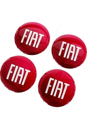 Simoni Racing Fiat Yazılı Jant Göbek Arması 106316