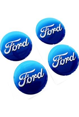 Simoni Racing Ford Yazılı Jant Göbek Arması 425188