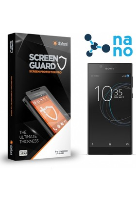 Dafoni Sony Xperia L1 Nano Glass Premium Cam Ekran Koruyucu