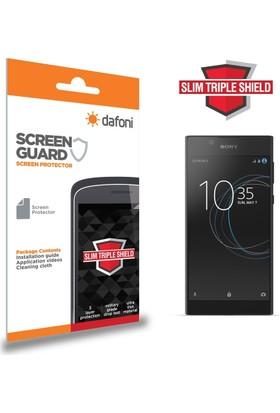 Dafoni Sony Xperia L1 Slim Triple Shield Ekran Koruyucu