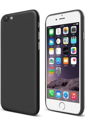 Eiroo Ghost Thin Apple iPhone 6 / 6S Ultra İnce Siyah Rubber Kılıf