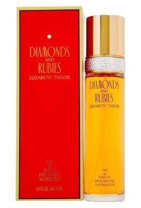 Elizabeth Taylor Elizabeth Taylor Diamonds & Rubies Eau de Toilette Spray 100ml
