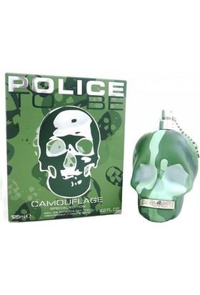 Police To Be Camouflage Eau de Toilette Spray 125ml