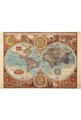 Dino Puzle 500 Parça Dünya Haritası 1626 Puzzle