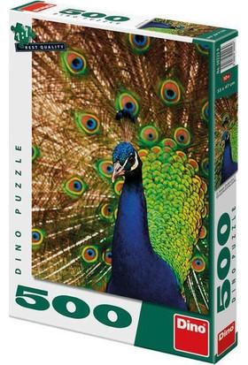 Dino Puzle 500 Parça Tavus Kuşu Puzzle