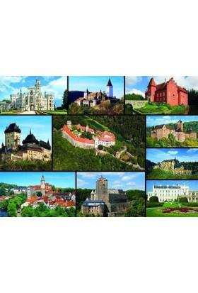 Dino Puzzle 1000 Parça Castles Puzzle