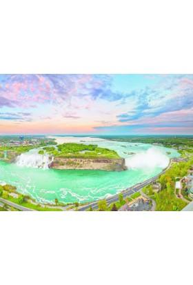 Dino Puzle 1000 Parça Niagara Şelalesi Puzzle