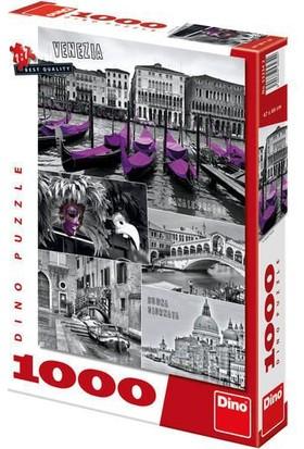 Dino Puzzle 1000 Parça Venedik Kolajı Puzzle