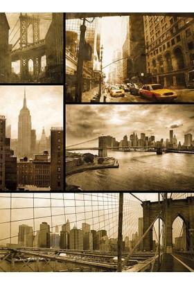 Dino Puzzle New York'da Bir Gün 1500 Parça Puzzle