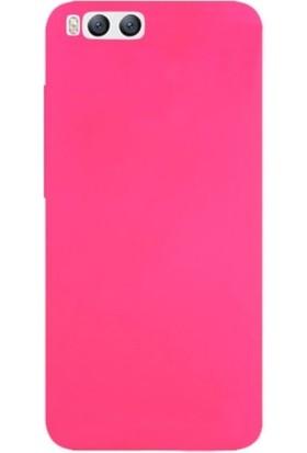 Case 4U Xiaomi Mi 6 Mi6 Kılıf Premier İnce Silikon Pembe*