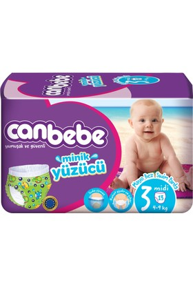 Canbebe Mayo Bebek Bezi Midi 3 Beden 13 Adet
