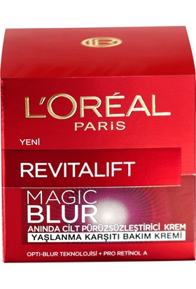 Loreal Paris Revitalift Blur Cilt Pürüzsüz Yaşlanma Karşıtı Krem 50 Ml