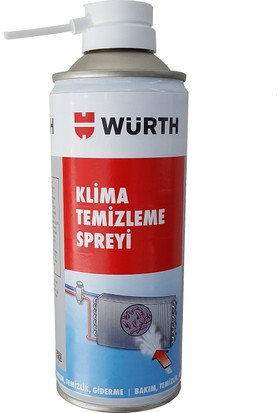 Würth Klima Temizleme Spreyi 300 Ml. Made in Germany 04893764