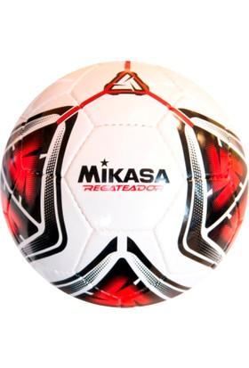 Mikasa El Dikişli Halı Saha Futbol Topu Regateador5-R Beyaz-Kırmızı