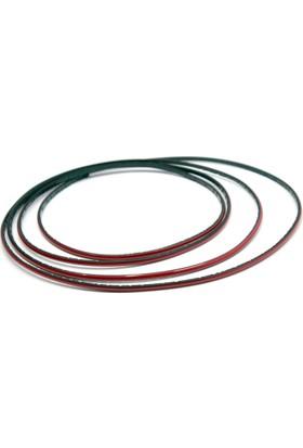 ModaCar Kırmızı 3 Metre Renkli Şerit 16a045