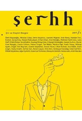 Şerhh Şiir Ve Eleştiri Dergisi