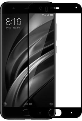 Case 4U Xiaomi Mi 6 Mi6 Full Kapatan Cam Ekran Koruyucu Siyah