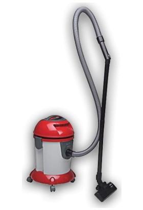 Arçelik S 7610 Kırmızı Süpürge Islak-Kuru 200 Watt Emiş Gücü