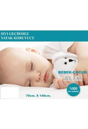 İpekçe Home Sıvı Geçirmez Bebek Alezi