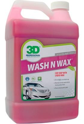 3D Wash N Wax- Cilalı Oto Şampuanı 3.79 Lt. 201 G 01
