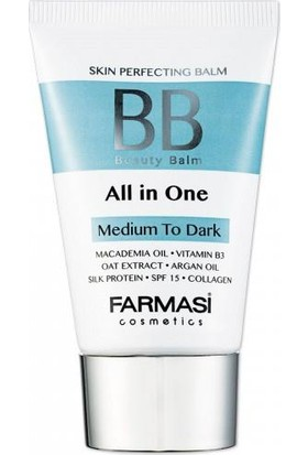 Farmasi BB All in One Krem Ortadan Koyuya Medium To Dark 50ML