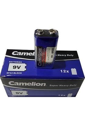 Camelion 120 Adet 9V Çinko Karbon Pil 12Li Kutu