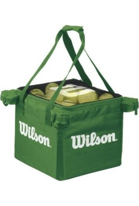 Wilson Tenis Top Arabası -TEACHING CART - Lime (WRZ541100)