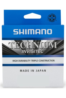 Shimano Technium İnvisitec 150 mt. Mono. Misina 0,305 mm