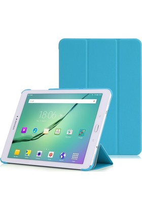 CresCent Samsung Galaxy Tab S2 Sm-T810/T813/T815/T817/T818/T819 9.7 İnç Smart Case Smart Cover Kılıf