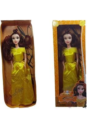 Kkd Güzel Ve Çirkin Masalı Kahramanı Bella Oyuncak Bebek Prenses Et