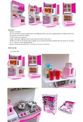 Kkd Oyuncak Mutfak Seti Açılır Kapak Barbie Bebeğe Uygun Set