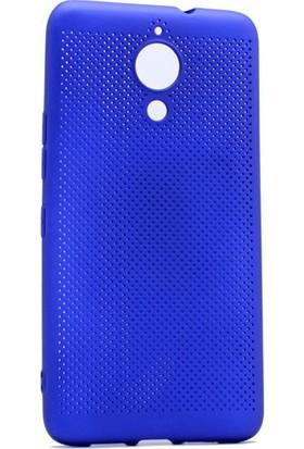 Kny General Mobile Gm5 Plus Kılıf Delikli İnce Felix Silikon+Cam