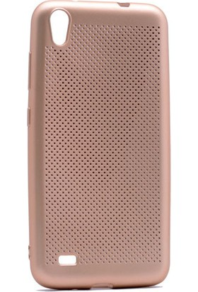 Kny Vestel Venus V3-5040 Kılıf Delikli İnce Felix Silikon+Cam