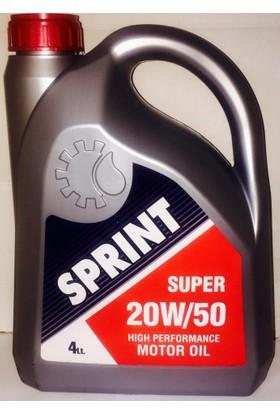 Sprint Süper 20W50 4Lt (Benzin-Dizel-LPG Uyumlu)