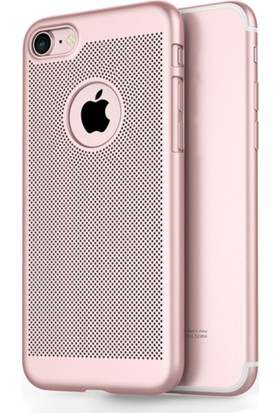 TeknoArea Apple iPhone 6/6s plus vent hole rubber kılıf