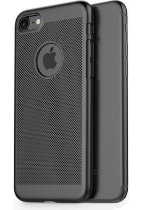 TeknoArea Apple iPhone 7 plus vent hole rubber kılıf