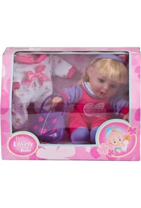 Kutulu 12 İnç Yedek Tulumlu Çantalı Bebek