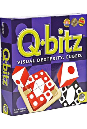Q-bitz Görsel Beceri Küpleri Zeka Oyunu