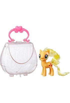 My Little Pony Çantalı Applejack Figür Oyuncak